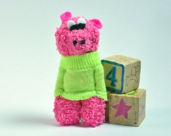 Miniature Pig sock toy stuffed animal