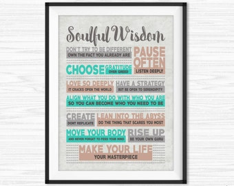 Canvas Quotes Motivational Wall Decor Office Wall Art