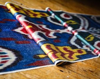 Handloomed Ikat Fabric UZ 15