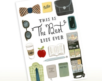 Greeting Card - This is the Best Life Ever - Brothers Edition 5x7, JW Pioneer, Elders, CO, JW Gift