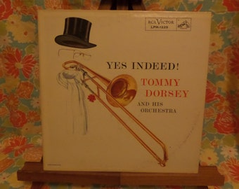 Yes Indeed! Tommy Dorsey and his Orchestra Record LP Album