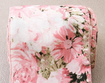 flower pattern ribbon-be