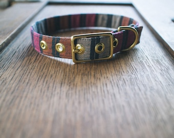 Byron + Brass Dog Collar - Made in Melbourne