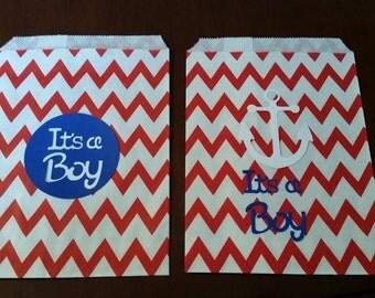 Treat bags it's a boy