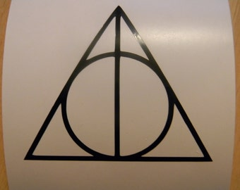 Harry Potter Vinyl Decal Sticker Choose your Color and Size
