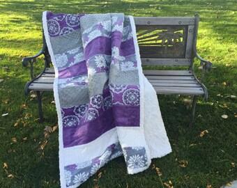 Luxury Minky Throw Blanket