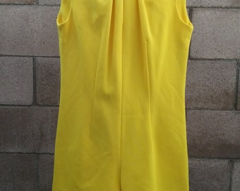 Vintage 1960s Yellow Jumper by Bernardo