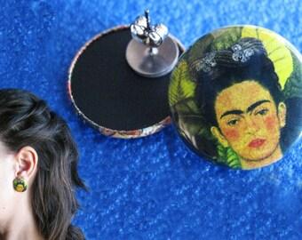 2 earrings Frida or chosen among all listings (2.5 CM-25 MM)