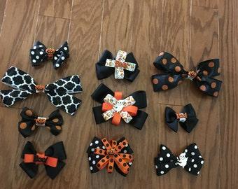 Custom Halloween Bows