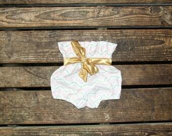 High waist baby toddler shorts