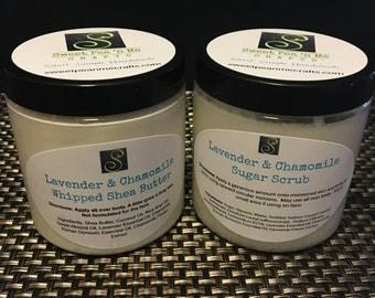 Lavendar & Chamomile Shea Butter and Sugar Scrub