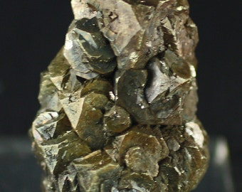 Pyrite, Unusual iridescent Cubo-octahedral Crystals, Texas, Mineral Specimen for Sale