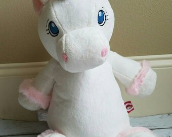Personalized unicorn cubbie