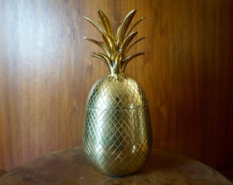 Brass Pineapple Box.