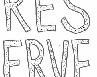 Reserve 1 by Cat Raia Minneapolis teaching comic zine