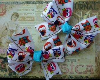 Owl pinwheel Bows