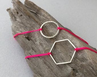 Neon Pink Bracelet