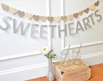 Wedding Banner - Wedding Table Decor - Fairytale Wedding - Wedding Decor - Sweetheart Table