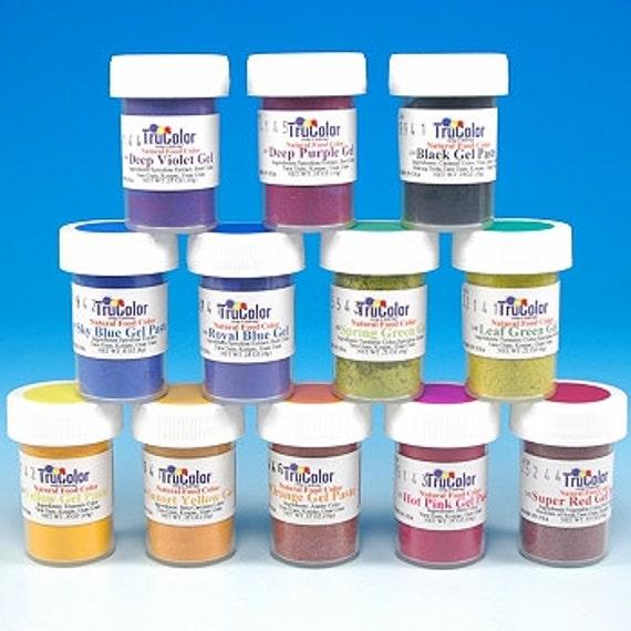 Hot Pink TruColor Natural Food Color Powder 0.18 oz - Kosher All ...