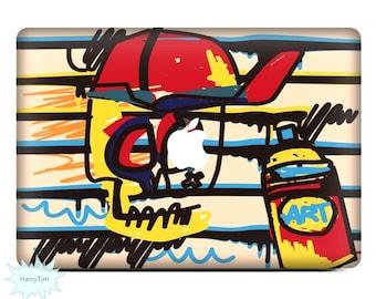 New Graffiti Decal Mac Stickers Macbook Decals Macbook Stickers Apple Decal Mac Decal Stickers Laptop Decal 07