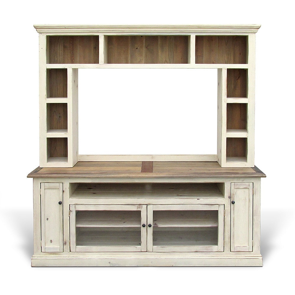 media console entertainment center reclaimed wood tv stand. Black Bedroom Furniture Sets. Home Design Ideas