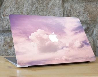 Cloud Macbook Skin, Cloud Laptop Skin, Cloud Computer Skin, Macbook Pro Skin, Macbook Air Sticker, Purple Macbook Sticker, PINK CLOUDS