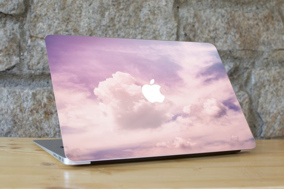 Cloud Macbook Skin, Cloud Laptop Skin, Cloud Computer Skin, Macbook Pro Skin, Macbook Air Sticker, Purple Macbook Sticker, PINK CLOUDS