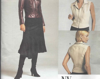 Vogue 2704 NYNY Top & Skirt pattern OOP Size 14-16-18