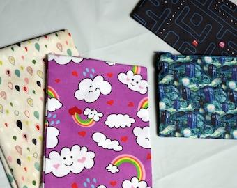 Kawaii Happy Clouds and Rainbows Pencil Case