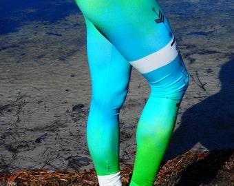 Downdogz Eco-Friendly Aqua Arrow Jiva Pants