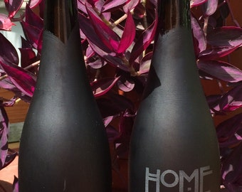 Wine Bottle Tiki Torches-Home Sweet Home-Set of 2