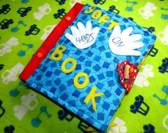 Quite book, soft book for toddlers, activity book
