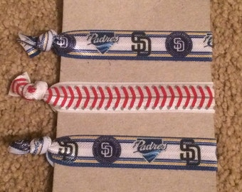 San Diego Padres Hair Ties