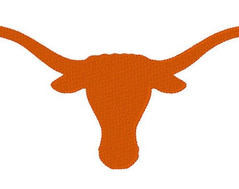 Texas Longhorns Embroidery