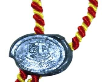 Geneve Seal BPG Metal Hang Seal Rare Collectible