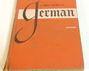 A First Course in German Book