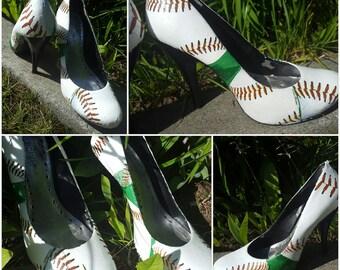 Baseball heels size 7