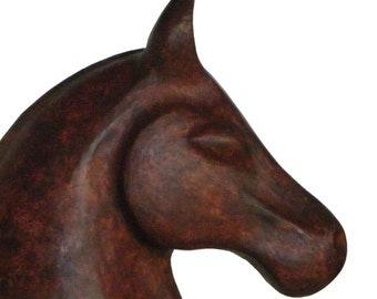 Horse Head Sculpture -EQUUS III