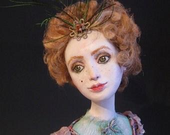 OOAK Art Doll Dragonfly.