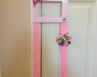 ON SALE All things pink hairbow holder