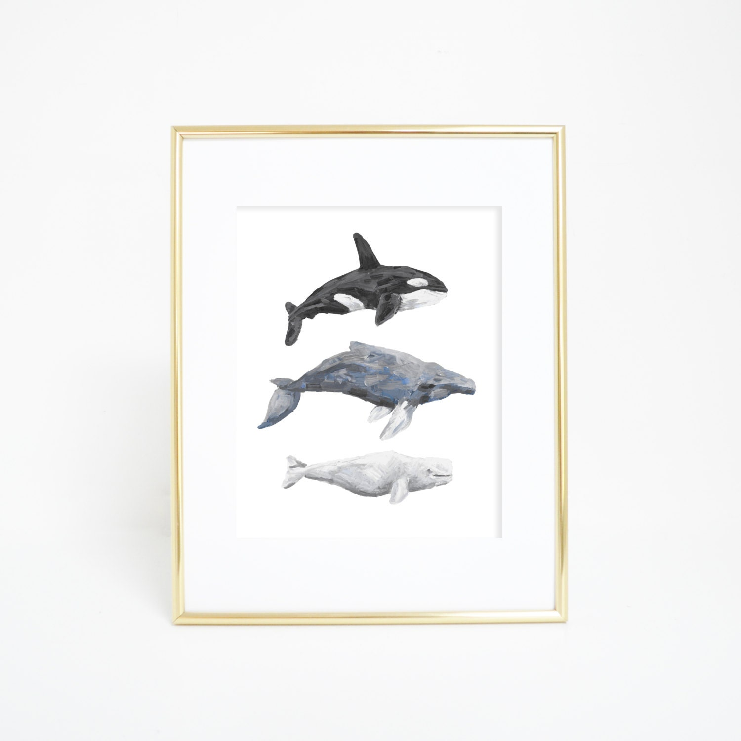 Whale Wall Art Whale Print Coastal Decor By Printsbyjettyhome