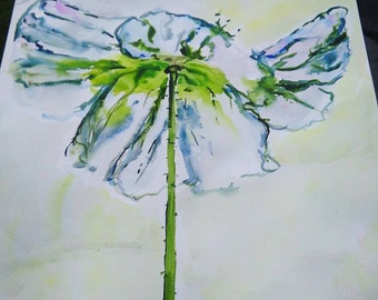 Light flower cleaning soul