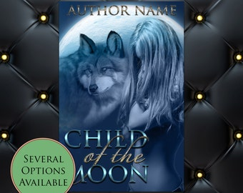 Child of the Moon (Shifter) Pre-Made eBook Cover * Kindle * Ereader Cover
