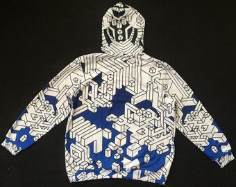 Pull over hoodie - Interdimensional (Blue)