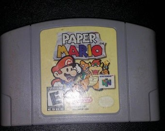 Paper Mario for the N64 Nintendo 64