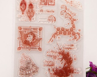 Clear stamp set (Christmas)