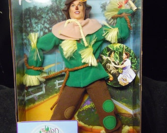 Ken as Scarecrow from Wizard of Oz doll