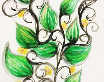 Swirls and Vines