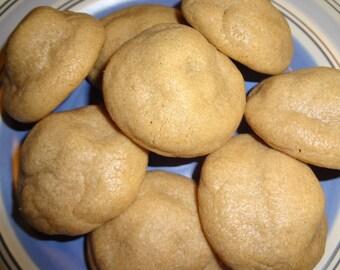 Soft & Gooey Homemade Rolo Stuffed Peanut Butter Cookies (2 Dozen)