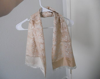 Vintage 50's Silk Scarf